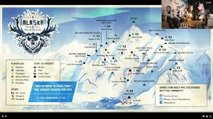 Alaska Road Map by Alaska Map Steep