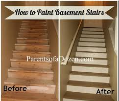 parents of a dozen how to refinish basement stairs