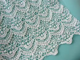 cotton lace fabric wide scalloped lace fabric home decor lace