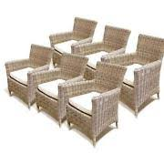 Outdoor Wicker Dining Chair Outdoor Wicker Dining Furniture Ebay