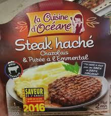 cuisine steak haché steak haché charolais purée à l emmental la cuisine d océane
