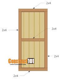 Exterior Shed Doors Exterior Door Plans Handballtunisie Org