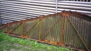 capannoni usati in ferro smontati capannone 10x12 con portoni scorrevoli treviso veneto capannone