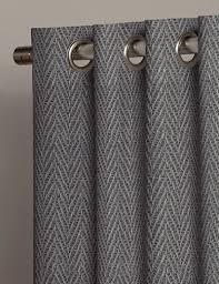 Grey Herringbone Curtains Buy Herringbone Grey Fabric The Metre Next Made To Measure