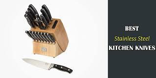 cold steel kitchen knives review best stainless steel kitchen knives reviews and guide for 2018