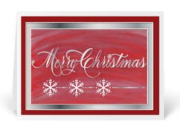 Merry Birthday Card Traditional Red Merry Christmas Holiday Card 3416 Ministry