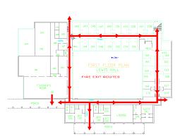 Fire Evacuation Floor Plan Template Fire Escape Plan Template Fire Escape Plan Template Best Template