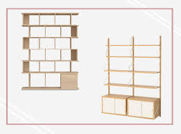 what of wood is best for shelves best modular shelving units wooden bamboo and aluminium