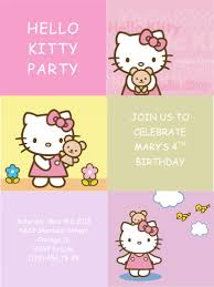 free printable kids party invitation templates http www hloom