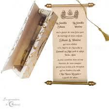 faire part mariage parchemin parchemin younes en véritable fibre de soie pour mariage ou naissance