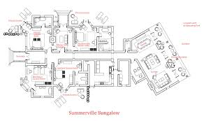 all bungalow floor plan architecture plans 83347