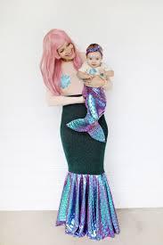 Mermaid Halloween Costumes Kids Mother Daughter Mermaid Costume Diy U2013 Beautiful Mess