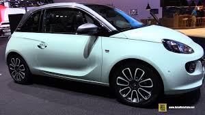 opel adam 2017 2018 opel adam unlimited exterior and interior walkaround 2017