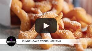 funnel cake sticks us foods