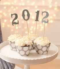 New Year Home Decoration New Year Cupcakes Decoration Idea Seoegy Com