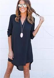 women u0027s high low tunic dress long sleeve tunic to wear with leggings