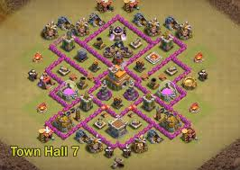 layout design th7 18 best th7 war base layouts for town hall 7 till december 2017