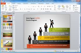 team building powerpoint presentation templates animated puzzle
