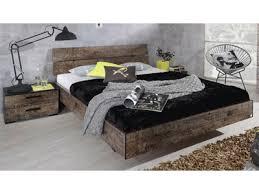 chambre style vintage chambre à coucher complète style vintage sumatra marron et noir