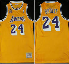 los angeles lakers 24 kobe bryant with 60th patch revolution 30