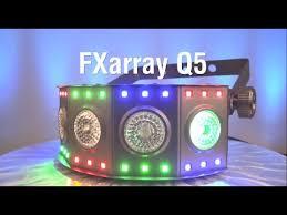 chauvet dj fxarray q5 effect light chauvet dj fxarray q5 quad color led wash light youtube