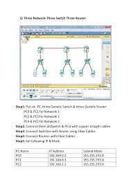 tutorial cisco packet tracer 5 3 packet tracer practical guide