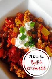 Buffalo Chicken Buffalo Chicken Chili 21 Day Fix Confessions Of A Fit Foodie