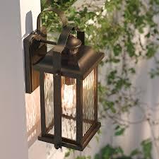 Kichler Lighting Outdoor Shop Kichler Lighting Linford 15 In H Olde Bronze Outdoor Wall