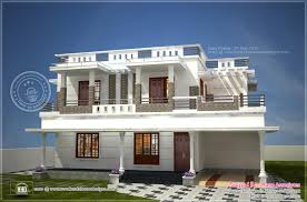 Kerala Home Design Flat Roof Elevation by Modern Design Homes Plans Home Interior