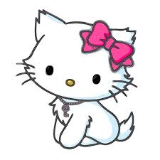 cute kitty cat cute cartoon characters clipart library