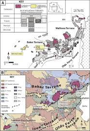 Eastern Oregon Map by Intrusive And Depositional Constraints On The Cretaceous Tectonic