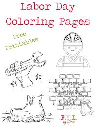 Labor Day Coloring Pages Free Printable Fyi By Tina Day Printable Coloring Pages