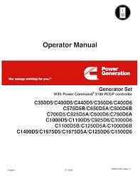 3100 operators manual documents
