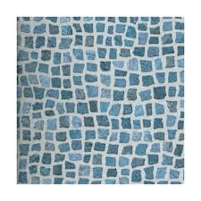 colours tadorna dark blue mosaic effect self adhesive vinyl tile