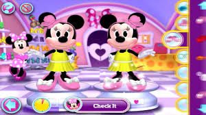 minnie mouse mickey mouse clubhouse dress fashion games disney