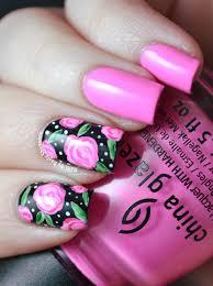 nails by kayla shevonne rose nail art for valentine u0027s day