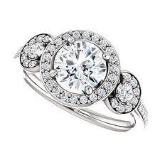 engagement rings top images Scarlett ring 1 carat round halo forever brilliant moissanite jpg
