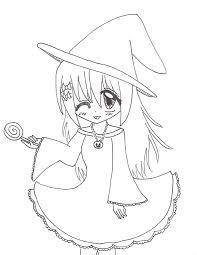 halloween line drawings anime halloween drawings u2013 halloween wizard