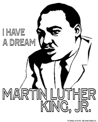 Martin Luther King Jr Day Coloring Pictures Holidays Net Dr Martin Luther King Jr Coloring Pages