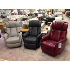 Leather Rocker Recliner Amalfi Power Swivel Rocker Recliner In Leather Cardiff Swansea