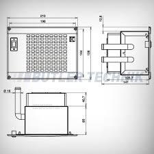 or eberspacher water heater exchanger matrix 12v silencio 1 7kw
