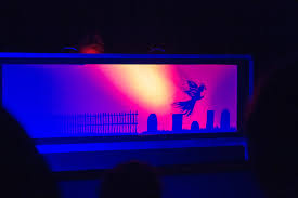 halloween light shows scared silly shadow puppet show visits ithaca for halloween the