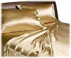 Gold Bed Set Divatex Home Fashions Royal Opulence Satin Sheet