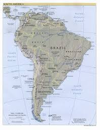 North And South America Map by Free Download Americas Maps