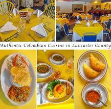 cuisine sur 2 aromas sur authentic columbian food ephrata lancaster county