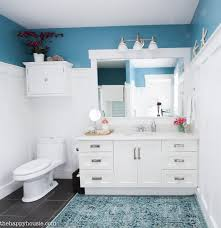 how to completely organize your bathroom the happy housie