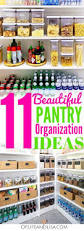 Kitchen Cabinet Organization Solutions 11 Simply Beautiful Pantry Organization Ideas Pantry