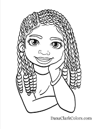 gallery for website african american coloring pages at children
