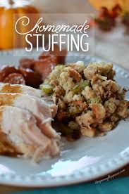Homemade Thanksgiving Stuffing Recipe Homemade Stuffing With Savory Herbs U0026 Cranberries Simply Whisked