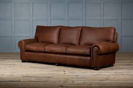 Genuine Leather Furniture Manufacturers Light Brown Full Grain Leather Corner Sofa Decor With Cushions As